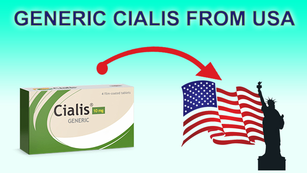 Generic Cialis from USA